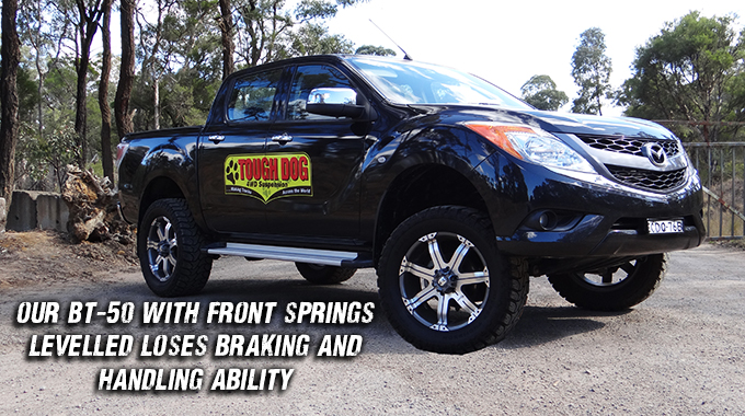 Tough Dog 4WD Suspension | Product News