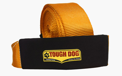9 Metre 11 Tonne Snatch Strap  | Tough Dog 4WD Suspension